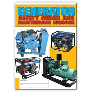 Picture of Generator Safety Check Logbook