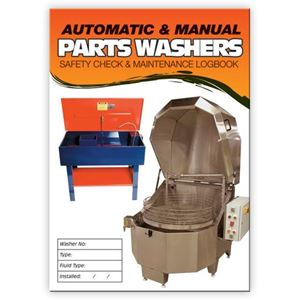 Picture of Parts Washer Safety Check Logbook
