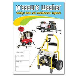 Picture of Pressure Washer Safety Check Logbook