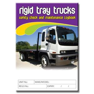 Picture of Rigid Tray Truck Safety Check Logbook