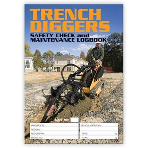 Picture of Trench Digger Safety Check Logbook