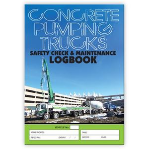 Picture of Concrete Pumping Safety Check Logbook