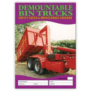 Picture of Demountable Bin Truck Safety Check Logbook