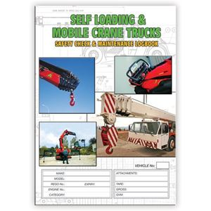 Picture of Self Loading Crane Truck Safety Check Logbook