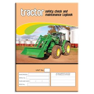 Picture of Tractor Safety Check Logbook