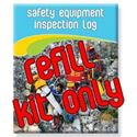 Picture of Safety / Rescue Equipment Logbook - REFILL