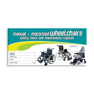 Picture of Wheelchair Safety Check Logbook