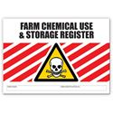 Picture of Farm Chemical Use & Storage Register