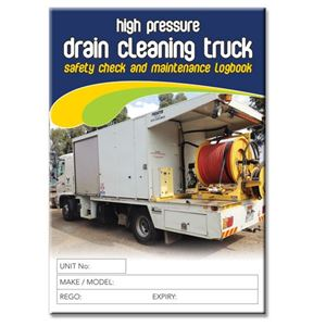 Picture of Drain Cleaning Truck Safety Check Logbook