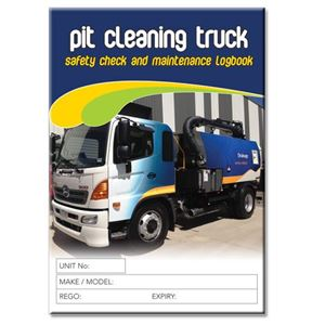 Picture of Pit Cleaning Truck Safety Check Logbook