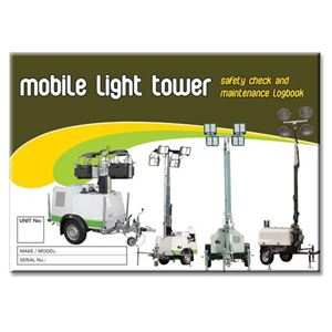 Picture of Mobile Light Tower Safety Check Logbook
