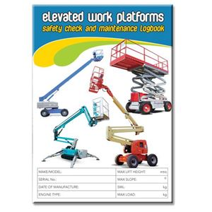 Picture of Elevated Work Platform Safety Check Logbook
