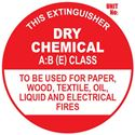 Picture of ABE Extinguisher Sign