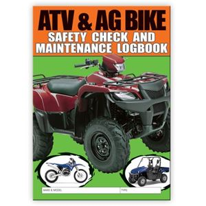 Picture of ATV & AG Bikes Safety Check Logbook