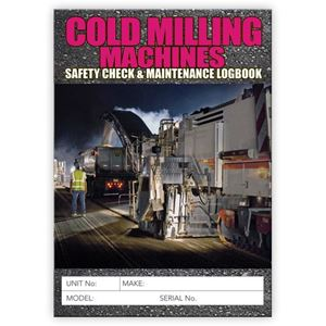 Picture of Cold Milling Machine Safety Check Logbook