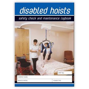 Picture of Disabled Hoist Safety Check Logbook