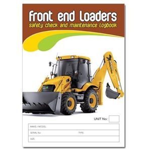Picture of Front End Loader Safety Check Logbook
