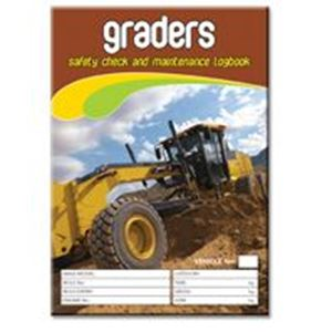 Picture of Grader Safety Check Logbook