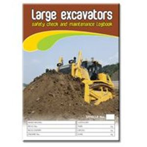 Picture of Large Excavator Safety Check Logbook
