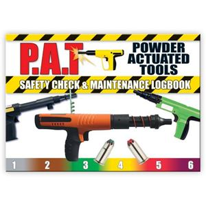 Picture of Powder Actuated Tools Safety Check Logbook