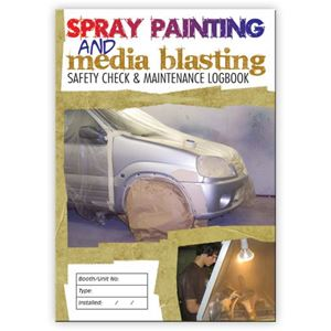 Picture of Spray Painting & Media Blasting Safety Check Logbook