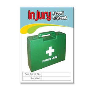 Picture of Injury Report Logbook - 2 PACK A6