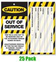 Picture of Lock Out Tags - Style 2 x25