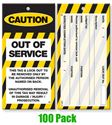 Picture of Lock Out Tags - Style 2 x100