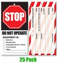 Picture of Lock Out Tags - Style 3 x25