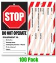 Picture of Lock Out Tags - Style 3 x100