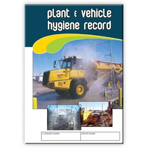 Picture of Plant & Vehicle Hygiene Record