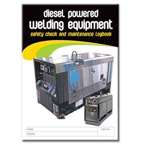Picture of Diesel Powered Welding Equipment Safety Check Logbook