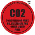 Picture of Co2 Extinguisher Sign