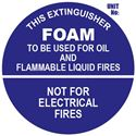 Picture of Foam Extinguisher Sign